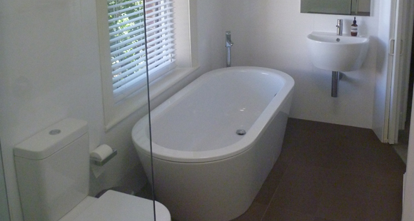 bathtub and tiles